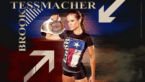 TNA | BUGZ Wrestling Wallpapers Brooke Tessmacher Aces And Eights
