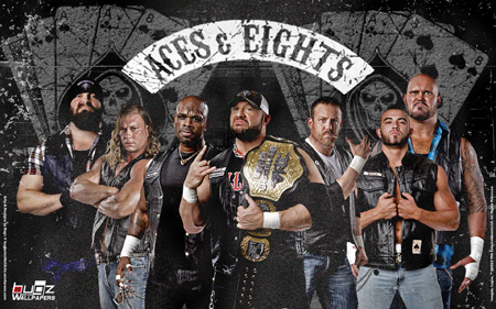 Aces & Eights Wallpaper (Preview)